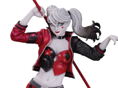 DC Comics Red White & Black Harley Quinn Limited Edition Statue (Philip Tan)