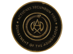 John Wick: Chapter 3 Parabellum Adjudicator Medallion Limited Edition Replica