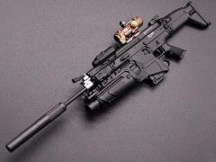 MK17 Rifle (D) 1/6 Scale Weapon Set