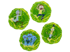 Rick and Morty 3D Coasters Four-Pack