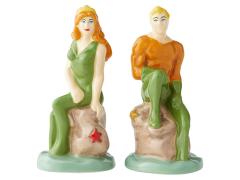 DC Comics Aquaman & Mera Salt and Pepper Shaker Set