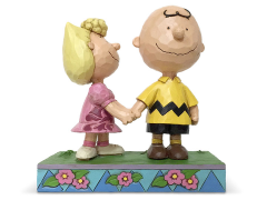 """Peanuts """"I Love My Big Brother"""" Charlie Brown and Sally Figure (Jim Shore)"""