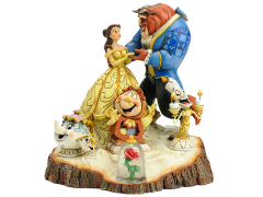 Beauty and the Beast Disney Traditions Carved By Heart (Jim Shore)