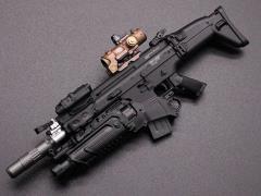 MK16 Rifle (D) 1/6 Scale Weapon Set