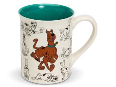 Scooby-Doo Model Sheet Mug