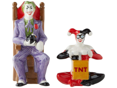 DC Comics The Joker & Harley Quinn Salt and Pepper Shaker Set