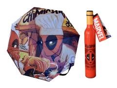 Marvel Deadpool Chimichanga Sauce Bottle Umbrella