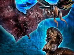 Godzilla: King of the Monsters HG D+ EX01 Mothra, Mothra Larva, & Rodan Exclusive Set