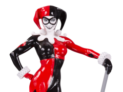 DC Comics Red White & Black Harley Quinn Limited Edition Statue (Adam Hughes)
