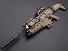 MK17 Rifle (B) 1/6 Scale Weapon Set