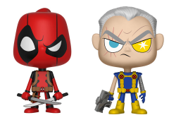 Marvel Comics Vynl. Deadpool + Cable