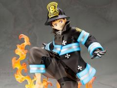 Fire Force ArtFX J Shinra Kusakabe Statue