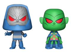 DC Super Heroes Vynl. Darkseid + Martian Manhunter