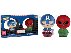 Dorbz: Marvel Captain America and Red Skull Exclusive Two-Pack