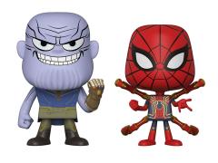 Avengers: Infinity War Vynl. Thanos + Iron Spider