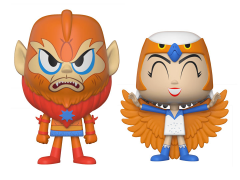 Masters of the Universe Vynl. Beast Man + Sorceress Exclusive