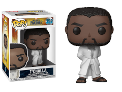 Pop! Marvel: Black Panther - T'Challa (White Robe)