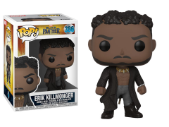Pop! Marvel: Black Panther - Erik Killmonger (With Scars)