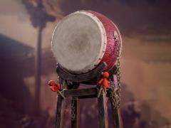Ming Dynasty War Drum 1/6 Scale Accessory