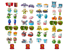 Transformers BotBots Wave 2 Set of 2 Eight-Packs