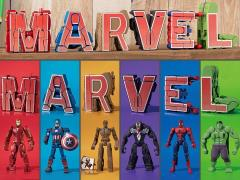 Marvel Cho Henkan!! Mojibakeru Exclusive Box of 6 Transforming Figures