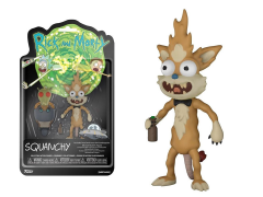 Rick and Morty Series 2 Squanchy Action Figure (Krombopulos Michael Parts)