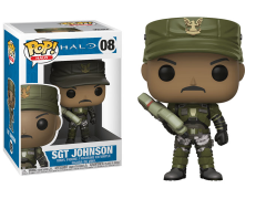 Pop! Games: Halo - Sergeant Johnson