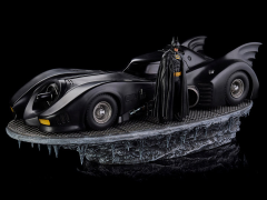 Batman (1989) Batman & Batmobile 1/10 Deluxe Art Scale Limited Edition Statue