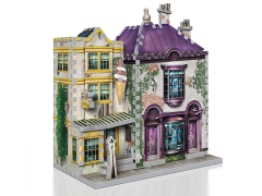 Harry Potter Diagon Alley Collection Madam Malkin's & Florean Fortescue's Ice Cream 3D puzzle