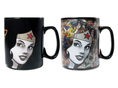 DC Comics Wonder Woman Clue Morphing Mug
