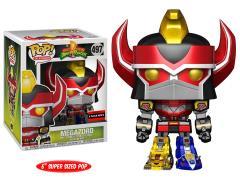 "Pop! TV: Power Rangers 6"" Super Sized Megazord (Metallic) Exclusive"