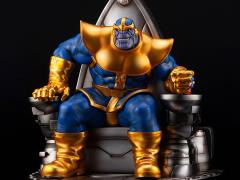 Marvel Thanos On Space Throne Fine Art Statue