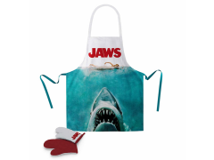 Jaws Poster Apron & Oven Glove