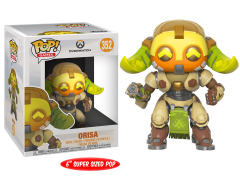 "Pop! Games: Overwatch - 6"" Super Sized Orisa"