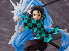 Demon Slayer: Kimetsu no Yaiba Tanjiro Kamado Constant Flux Deluxe 1/8 Scale Figure