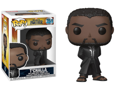 Pop! Marvel: Black Panther - T'Challa (Black Robe)