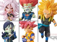 Super Dragon Ball Heroes World Collectable Figure Vol.6 Set of 5 Figures