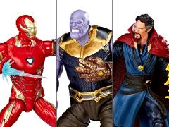 Marvel Studios: The First Ten Years Marvel Legends Iron Man, Thanos, Doctor Strange Three-Pack
