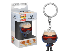 Pocket Pop! Keychain: Overwatch - Soldier: 76