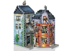 Harry Potter Diagon Alley Collection Weasley's Wizard Wheezes & Daily Prophet 3D Puzzle