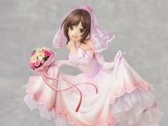 The Idolmaster Cinderella Girls Miku Maekawa (Dreaming Bride Ver.) Exclusive 1/7 Scale Figure