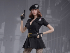 Seamless Dress (Black) 1/6 Scale Accessory Set
