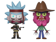 Rick and Morty Vynl. Seal Team Rick + Scary Terry