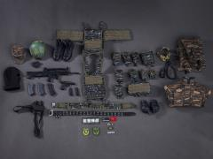 People's Armed Police Shannante Team X Falcon Assault Team 1/6 Scale Accessory Set