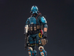Hardcore Coldplay Blue Falcon 1/18 Scale Figure