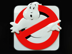 Ghostbusters Firehouse Sign Limited Edition Replica