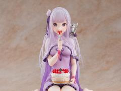 Re:Zero Starting Life in Another World Emilia (Birthday Cake Ver.) 1/7 Scale Figure