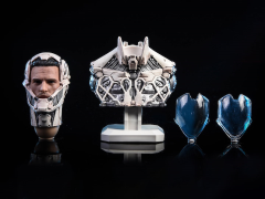 Mechanical Warrior Bust (White) 1/6 Scale Accessory Set