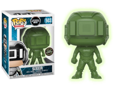 Pop! Movies: Ready Player One - Sixer (Glow-in-the-Dark Jade) (Chase) Exclusive