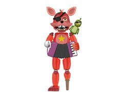 Freddy Fazbear's Pizzeria Simulator Rockstar Foxy (Translucent) Action Figure